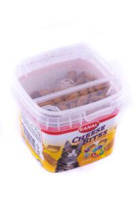 خوراک کاسه ای مالت گربه با ویتامین و طعم پنیر