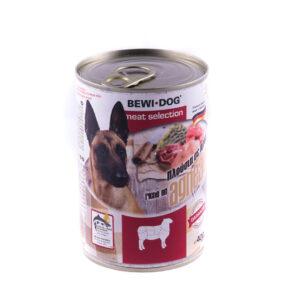 کنسرو سگ بوی داگ گوشت بره 400 گرمی BEWI.DOG