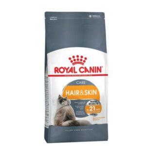 غذای گربه رویال کنین hair and skin 2 kg