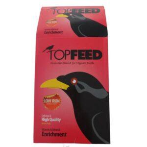 غذای خشک مرغ مینا تاپ فید مدل Essential Blend وزن 1 کیلوگرم