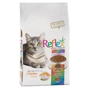 غذای خشک گربه رفلکس مدل Multi وزن 1.5 کیلوگرم