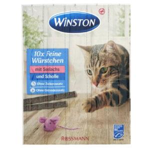 تشویقی گربه وینستون مدل ماهی قزلآلا 5عددی